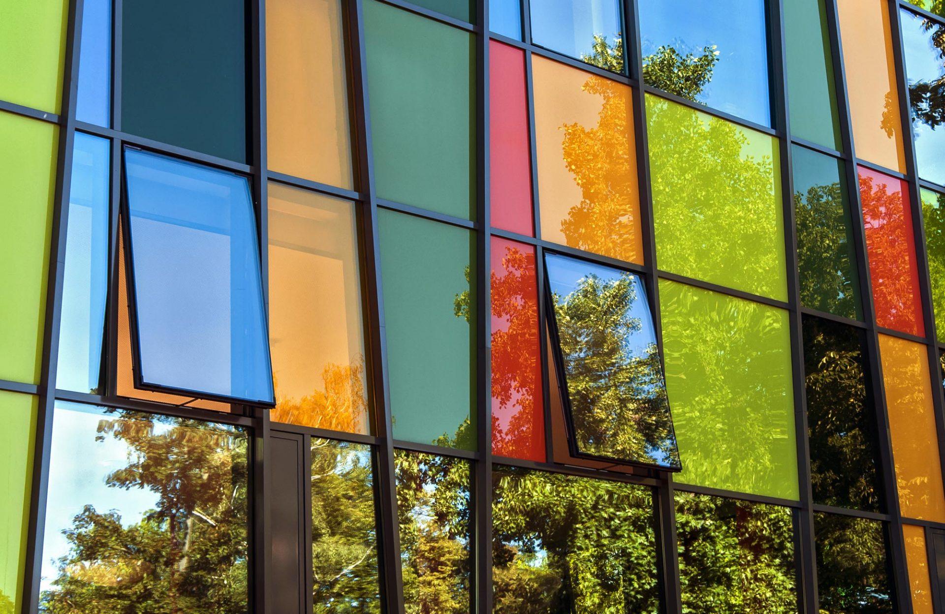 Fasady aluminium Budvar Centrum