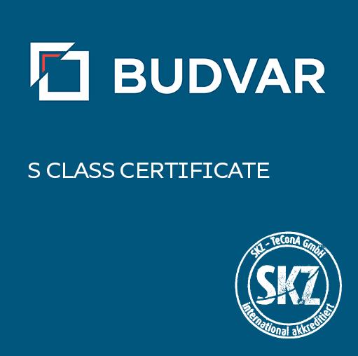 S class certyficate